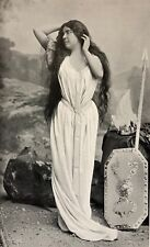 Louise Grandjean Brünnhilde de Siegfried D'après  Nadar C 1904 Opéra Wagner