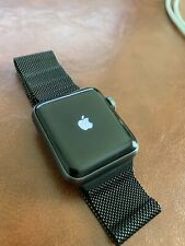 Apple Watch Series 2 38mm Aluminum Black Sport Band - Box, Accessories, Bands!