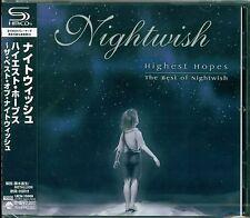 NIGHTWISH HIGHEST HOPES BEST OF CD - 2012 JAPAN RMST SHM - GIFT PERFECT QUALITY!