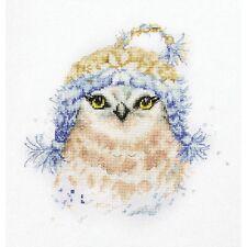 Cross Stitch Kit Owl Luca-S Point de croix Punto de cruz