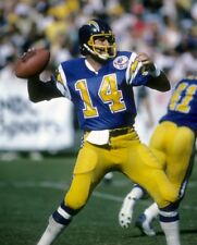 DAN FOUTS 8X10 PHOTO SAN DIEGO CHARGERS PICTURE NFL FOOTBALL BLUE JERSEY