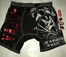 Star Wars Men's Boxer Briefs Size Small Darth Vader Black
