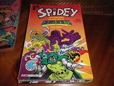 SPIDEY n° 71 très bon état, chiffre 6 écrit sur couv journal de SPIDER MAN 1985