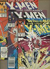 Uncanny X-Men 227,229,231 * 3 Book Lot * 1st Reavers! 1st Gateway! Marvel