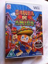 Samba De Amigo - 2008 Sega/Gearbox music game (Nintendo Wii - PAL)
