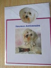 carte anniversaire  neuf