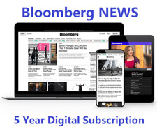 Bloomberg News 5-Year Digital Subscription All Platforms Worldwide Region Free