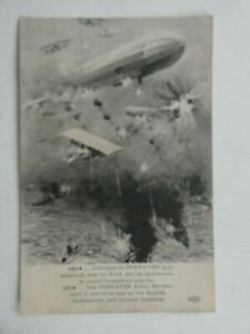 WW1 Military postcard of the action at Cuxhaven