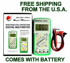 Digital Multimeter Capacitance AC DC Voltmeter Frequency Temp U.S.A.