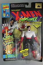 Toy Biz 1994 Marvel X-Men X-Force BLACK TOM