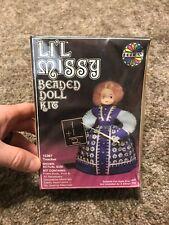 Walco vintage Lil missy beaded doll kit 13367 teacher doll