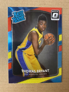 2017-18 NBA Optic Thomas Bryant RC Rookie #160 🔥 RED YELLOW PARALLEL Lakers