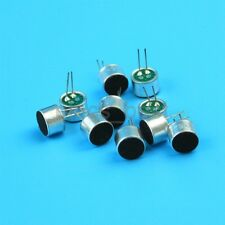 10pcs 2pin Mini Electret Microphone 9.7mm*6.7mm