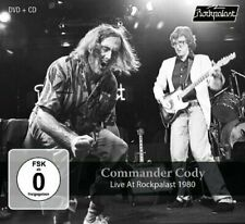 COMMANDER CODY - Live At Rockpalast 1980 - CD + DVD