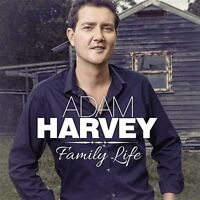 ADAM HARVEY Family Life (Personally Signed by Adam) CD NEW