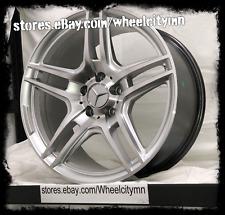 19 x9.5 inch silver Mercedes AMG OE factory replica wheels ML 350 500 5x112 4x