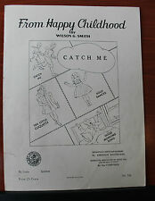 1919 - Catch Me by Wilson G Smith from Happy Childhood-Piano sheet music