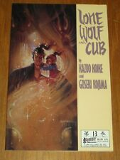 Lone Wolf and Cub Vol 13 by Kazuo Koike First Publishing (Paperback)<
