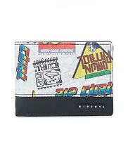 RIP CURL MENS WALLET.NEW ROCKERED MONEY CREDIT CARD COIN NOTE PURSE 7W UPV4 3282