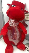 """Great Wolf Lodge 16""""  Red Dragon Plush Stuffed Animal - New With Tags"""