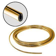 Gold Car Door Edge Guard Trim 8' Full Size U Shape