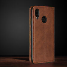 For Huawei Nova 3e P20 Pro/Lite Leather Wallet Case High-intensity Magnet Cover