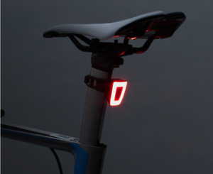 RockBros USB Rechargeable Helmet Bike Smart Light Night Warn Taillight 20 Lumen