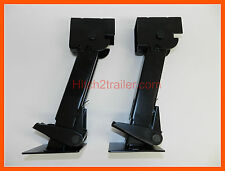 (1) pair Trailer Stabilizer Jacks Swing Down Levelers RV Camper Cargo Utility