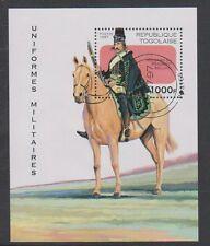 Togo - 1997, Military Uniforms sheet - F/U