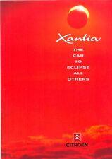 CITROEN Xantia 1993 UK market launch Sales Brochure + price list