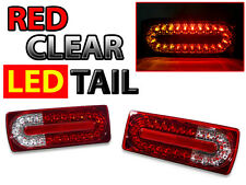 Red/Clear Facelift LED Rear Tail Light For 1990-2006 Mercedes W463 G Wagon Class