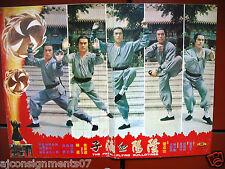 The Fatal Flying Guillotine Yin yang xie di zi Martial Arts Lobby Card 70s