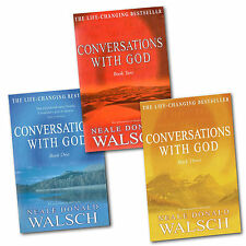 Conversations with God Collection Neale Donald Walsch 3 Books Set Series 1 to 3