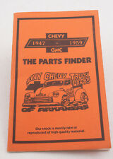 Chevy Chevrolet 1947 to 1959 Parts Catalog Mar 1985 Issue(F4R-45) Trucks Pamplet