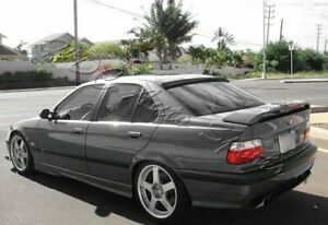 For 92-98 BMW E36 318 325 M3 2DR VIP Carbon Fiber Rear Roof Window Spoiler Wing