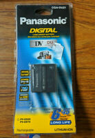 Panasonic MiniDV Rechargeable Lith-Ion Digital Camcorder Battery CGA-DU21 NEW