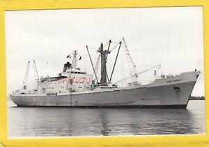 PORT BURNIE 1966 Port Line refrigerated cargo ship   -Photograph