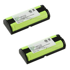 2 Cordless Phone Battery for Panasonic HHRP105 HHR-P105
