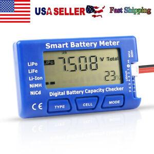 5 in 1 Digital Battery Capacity Tester Esc Tester For 1-7S LiPo Li-ion Battery