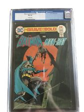 Brave and the Bold #119 (CGC 6.0! Batman And Man Bat Jim Aparo Cover/Art!)
