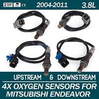 4Pcs O2 Oxygen Sensors Mitsubishi Endeavor Up//Downstream 4-Door 2004-08 MD315175