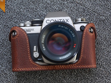 Brown Leather Half Case for Contax S2 - BRAND NEW