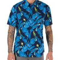 Vans Bonsai Short Sleeve Floral Shirt for Men, (sizes Small, Med, Large) NWT