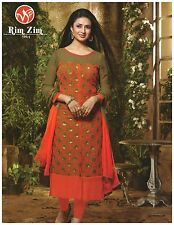 Woman's Embroidered Salwar Kameez Unstitched (Georgette Material)