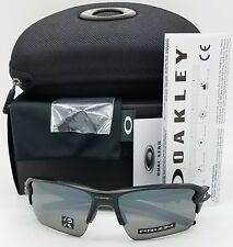 NEW Oakley sunglasses Flak 2.0 XL Matte Black Prizm Polarized 9188-96 AUTHENTIC
