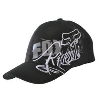 NWT Fox Men's Ball Sport Cap/Hat S/M Size FlexFit Black #081Great Xmas Gift