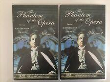 THE PHANTOM OF THE OPERA ~ CHARLES DANCE & TERI POLO ~ RARE PAL VHS VIDEO ~ 3HRS
