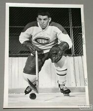 Original Late 50's Andre Pronovost Canadiens Photo