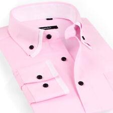 Camisas y polos de hombre rosas rosa, talla 40