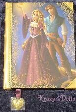 Disney Designer Fairytale doll Collection Rapunzel and Flynn Journal LE NEW!